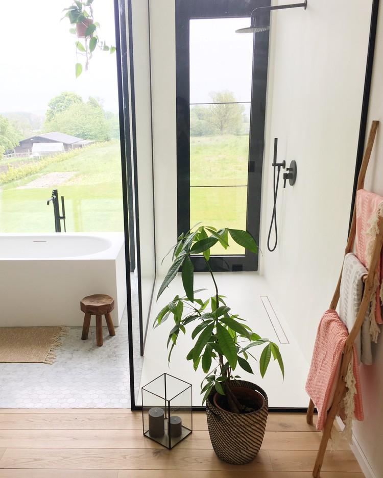 ladder badkamer handdoek