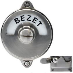 WC Slot - Hendel vrij/bezet mat nikkel