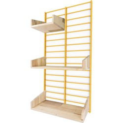 Tolhuijs Fency Package Bathroom Normal Pallet Wood - Yellow