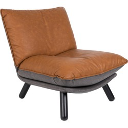 Zuiver fauteuil Lazy Sack LL bruin 81 x 75 x 94
