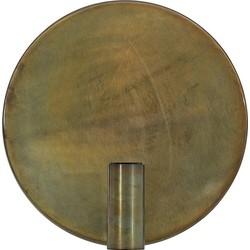 Light & Living Disc Wandlamp Ø30 cm - Goud-grijs