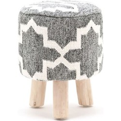 By Boo Stool Pearl Grey