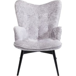 Kare Design Fauteuil Vicky Wilson Zilver 92 x 59 x 63