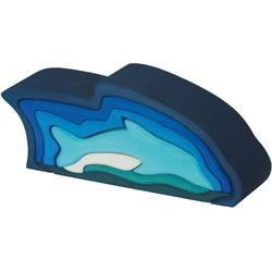 Dolfijn 9-delig Hout - Glückskäfer