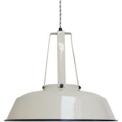 "HK-living hanglamp L ""Workshop"", zand Ø 45 cm, industriële lamp, metaal, 45x40 cm"