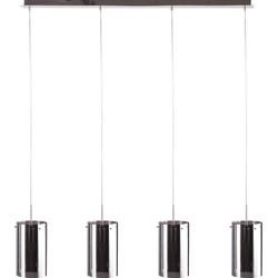 Hanglamp Quattro 4 lichts + fume (grijs) glas