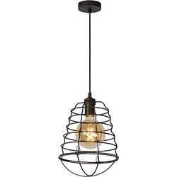 Lucide Zych Hanglamp Metaal Ø 25 cm - Roest Bruin