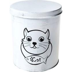 Vershoudblik voor kattenvoer Wit - 1 Liter