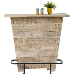 Kare Design Bar Puro - L115 X B45 X H106 Cm - Mangohout