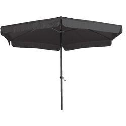 Garden Impressions Delta parasol Ø300 in de kleur donker grijs