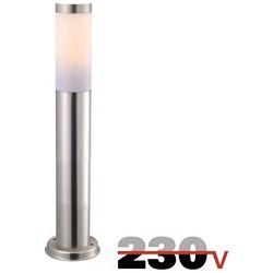 Luxform Atlanta post staande lamp 230V - zilver