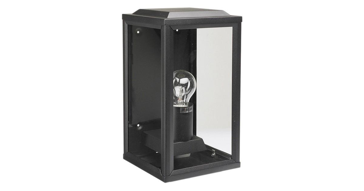 K.S. Verlichting 'T Gooi Wandlamp 28 x 12 cm - Zwart
