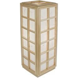 Fine Asianliving Japanse Tafellamp Rijstpapier Shoji Hout Nagoya Natural