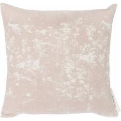 Kussen Lily roze 45x45cm