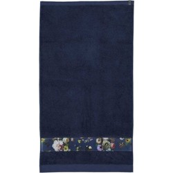 Essenza Badtextiel Fleur Blue-Douchelaken (70 x 140 cm)