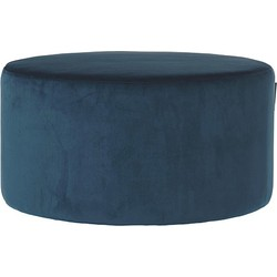 Riverdale Chelsea Poef Polyester Donkerblauw - 70 cm