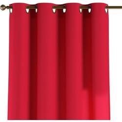 Gordijn met ringen rood
