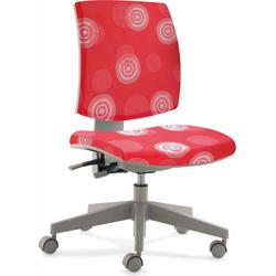 24Designs Kinderbureaustoel Flexis - Rood