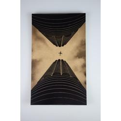 Deco schilderij HG op hout #1 (15cmx25cm)