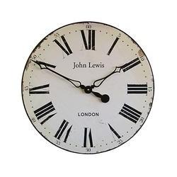 Lascelles Personalised Paper Face Wall Clock, Dia.50cm