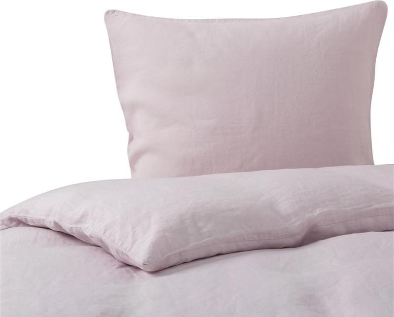 Linnen Dekbed Slaapkamer : Maxime dekbedovertrek 200 200 220 40 licht roze passion for