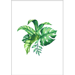 Tropical Leaves (50x70cm)