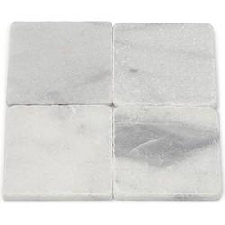 Mugla White Tumbled 10 x 10 x 1 cm
