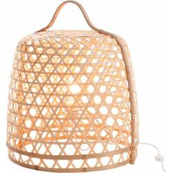 Bamboo light - Vloerlamp - cilinder - bamboe - naturel