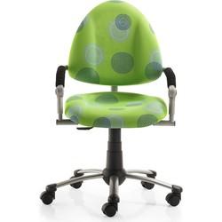 24Designs Kinderbureaustoel Skool - Groen