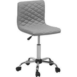 Bureaustoel zonder armleuningen grijs ORLANDO