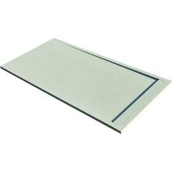 Acquabella Base Douchevloer Slate 90x140x3 cm Beige