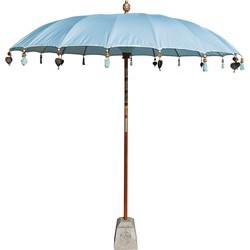 Todo Bien Bali parasol lichtblauw 180 cm