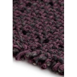 GAN Rugs Waan Dark Red - 250 x 250 cm