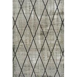 Brinker Feel Good Carpets Cross Silver Grey - 170 x 230 cm
