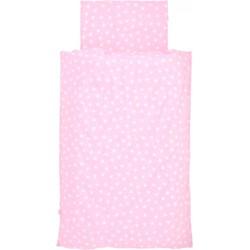 Jollein Overtrek en sloop 120x150cm Hearts pink