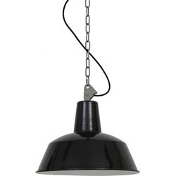 Dutchsteel Hanglamp Ryan staal zwart