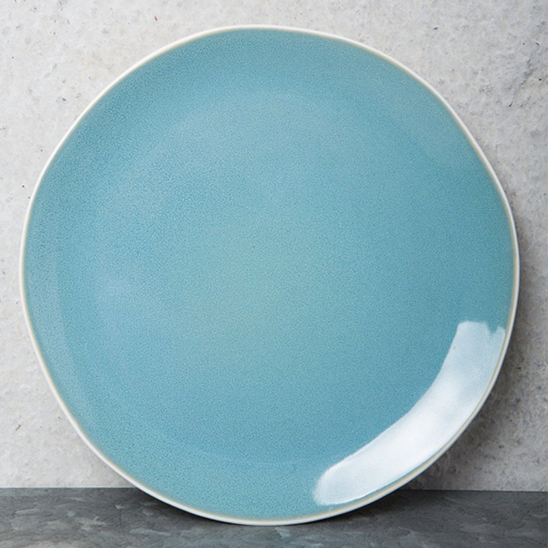 Urban Nomad Ocean Blue Breakfast Plate -