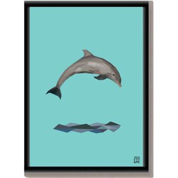 Dierenposter Dolfijn - A4