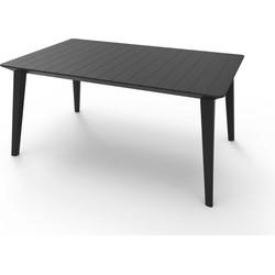 Allibert Lima tuintafel 157x98xH74 cm - graphite