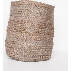 Basket jute small - Cinder