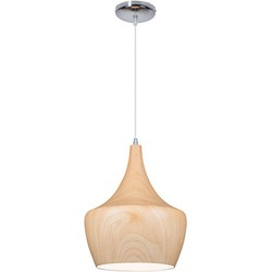 Linea Verdace Hanglamp Tipi White Wood - Ø30cm - H38cm