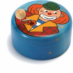 Muziekdoos Clown Hout  - Weizenkorn