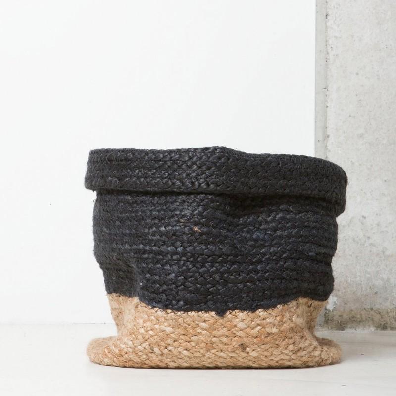 Braided Basket - Blue -