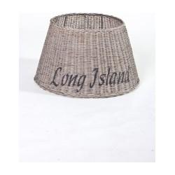 Rieten lampen kap (staand) 'Long Island'