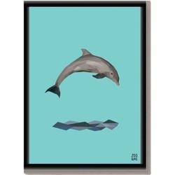 Dierenposter Dolfijn - A3
