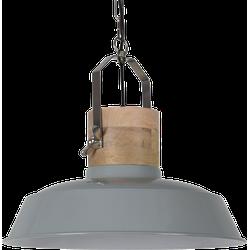 Hanglamp Loreto 34 cm Glans Licht Grijs