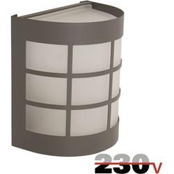 Luxform Canterbury wandlamp 230V - antraciet