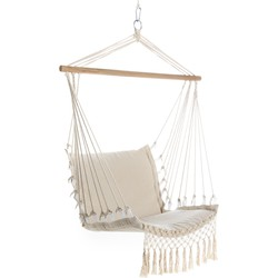 Hangstoel Outdoor - creme - Lifa Living