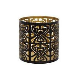 Biba logo votive Black and Gold