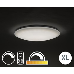 Ceiling Lamp 60cm White with Remote Control incl. LED - Extrema